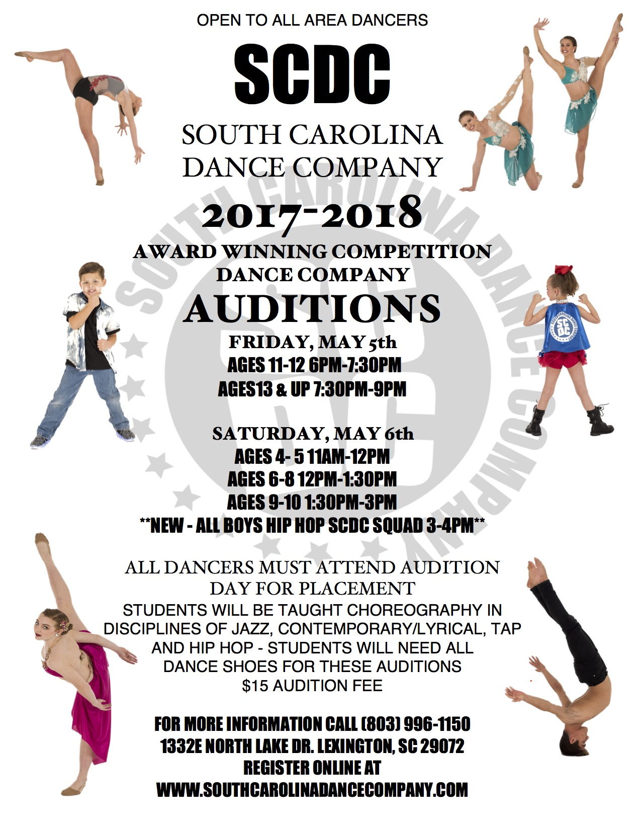 scdc competitive dance teams